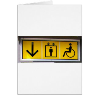 Barrier-free-access-in-local-public-transport Greeting Card