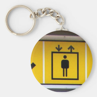 Barrier-free-access-in-local-public-transport Basic Round Button Keychain