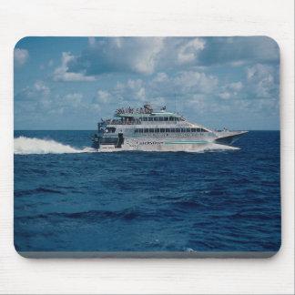 Barrier Reef cruise ship, Port Douglas, Australia Mousepad
