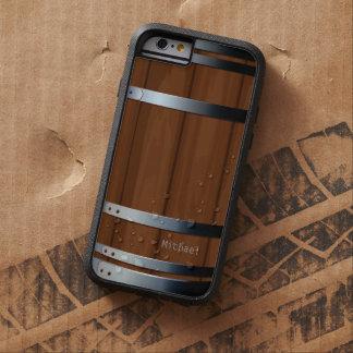 Barril de cerveza de madera retro funda para  iPhone 6 tough xtreme