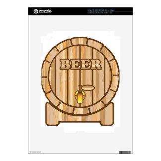 Barril de cerveza iPad 2 skin