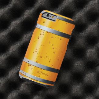 Barril de cerveza retro viejo funda de iPhone 6 tough