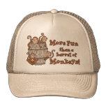 Barril de gorra de los monos