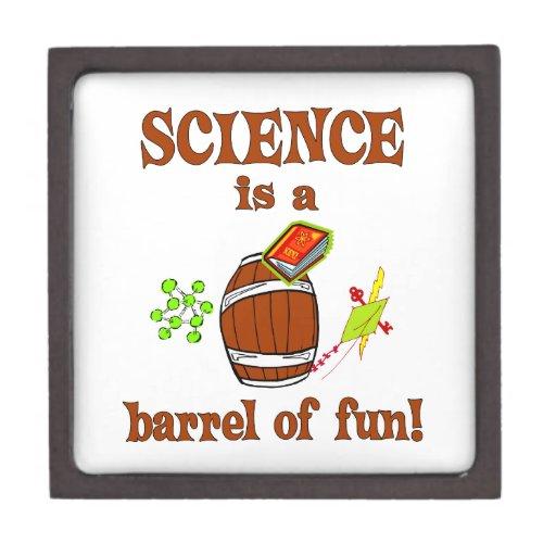 Barril de la ciencia de diversión cajas de regalo de calidad