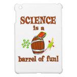 Barril de la ciencia de diversión iPad mini cárcasas