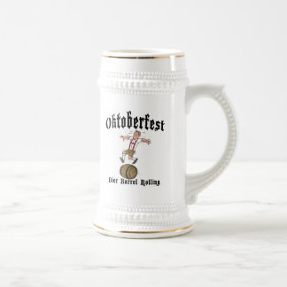 Barril de la féretro que rueda el regalo de jarra de cerveza