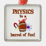 Barril de la física de diversión ornatos