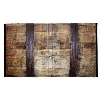 Barril de madera envejecido