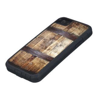 Barril de madera envejecido funda para iPhone SE/5/5s