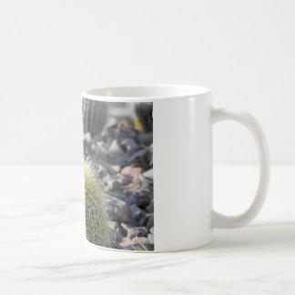 Barril de oro taza básica blanca