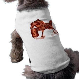 Barril que compite con la ropa del mascota ropa perro