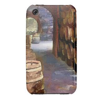 Barriles de vino en la bodega funda para iPhone 3
