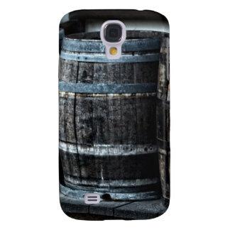 Barriles rústicos del whisky del país funda para galaxy s4