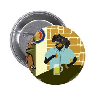 Barrilete del barril de cerveza de Doxie del Dachs Pin
