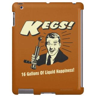 Barriletes: 16 galones de felicidad del líquido funda para iPad