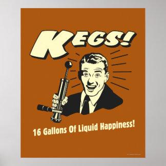 Barriletes: 16 galones de felicidad del líquido impresiones