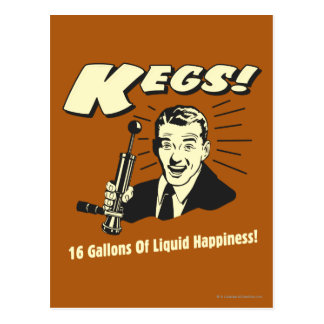 Barriletes: 16 galones de felicidad del líquido postales