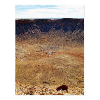 Barringer Meteorite Crater Postcard