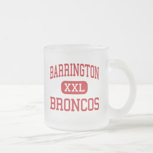 Barrington - Broncos - High - Barrington Illinois Coffee Mugs
