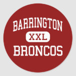 Barrington - Broncos - High - Barrington Illinois Stickers