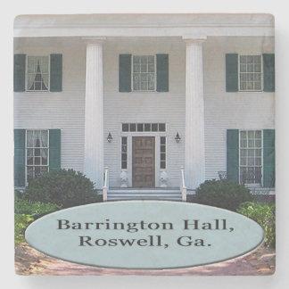 Barrington Hall, Roswell, Georgia Marble Coaster