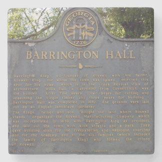 Barrington Hall Sign, Roswell, Georgia Coasters