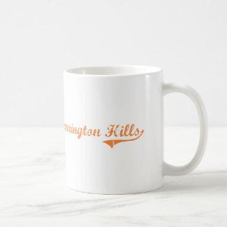 Barrington Hills Illinois Classic Design Classic White Coffee Mug