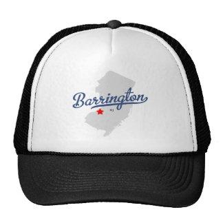 Barrington New Jersey NJ Shirt Trucker Hat