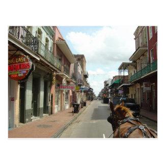 Barrio francés de New Orleans Postal