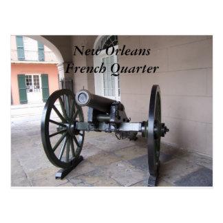 Barrio francés de New Orleans Tarjeta Postal