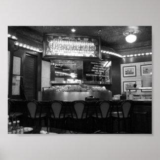 Barrio francés New Orleans, Luisiana del bar de os Póster