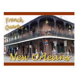 Barrio francés New Orleans Tarjetas Postales