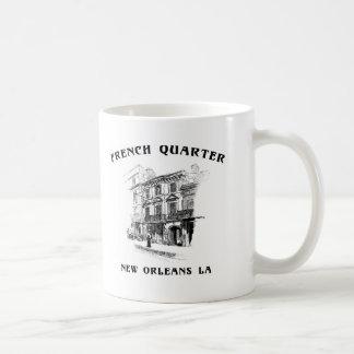 Barrio francés New Orleans Taza De Café