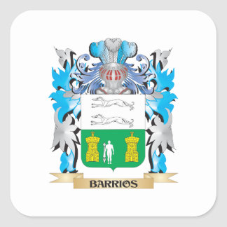 Barrios Coat of Arms Square Sticker