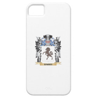Barris Coat of Arms - Family Crest iPhone 5 Cases