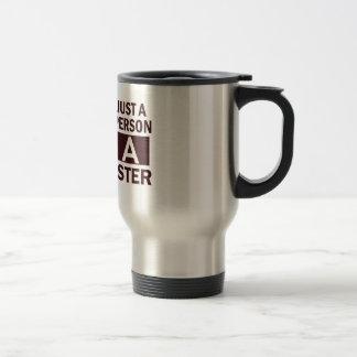barrister design 15 oz stainless steel travel mug