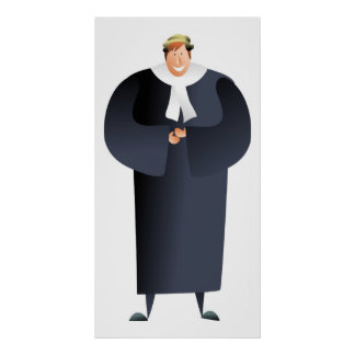 Barrister Poster