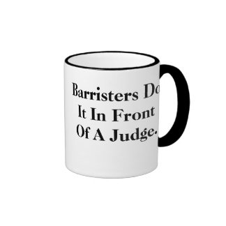 Barristers Do It - Cheeky Legal Insults Coffee Mug