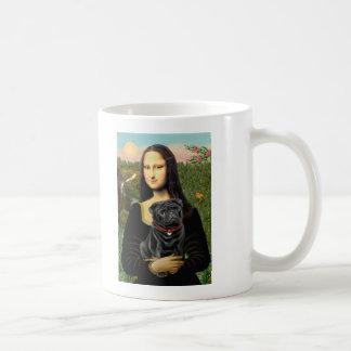 Barro amasado 16 (negro) - Mona Lisa Taza