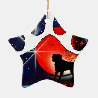 Barro amasado A1 Ornamento De Navidad