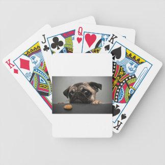 Barro amasado baraja de cartas