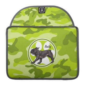 Barro amasado; camo verde claro, camuflaje funda para macbook pro