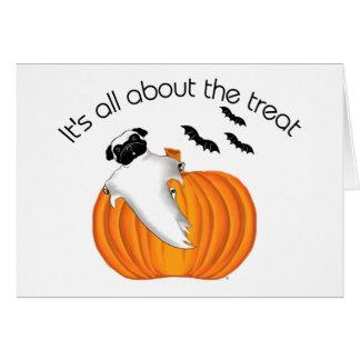 Barro amasado de Halloween Felicitación