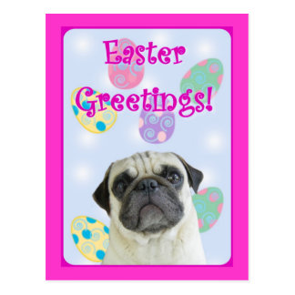 Barro amasado de los saludos de Pascua Tarjeta Postal