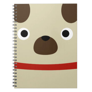 Barro amasado de Pugly Spiral Notebooks