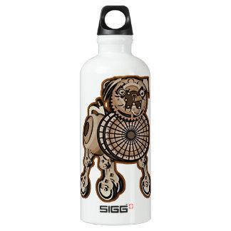 Barro amasado de Steampunk Botella De Agua