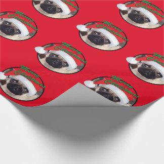 Barro amasado del navidad - papel de embalaje papel de regalo