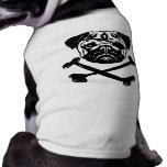 Barro amasado del pirata ropa para mascota