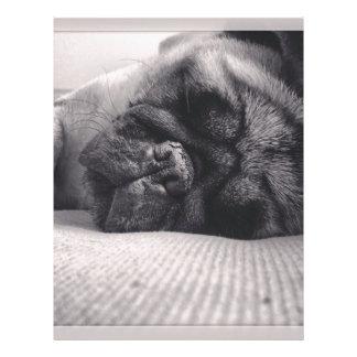 Barro amasado el dormir plantillas de membrete