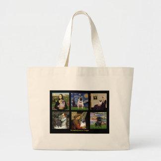 Barro amasado famoso #1 compuesto del arte bolsas